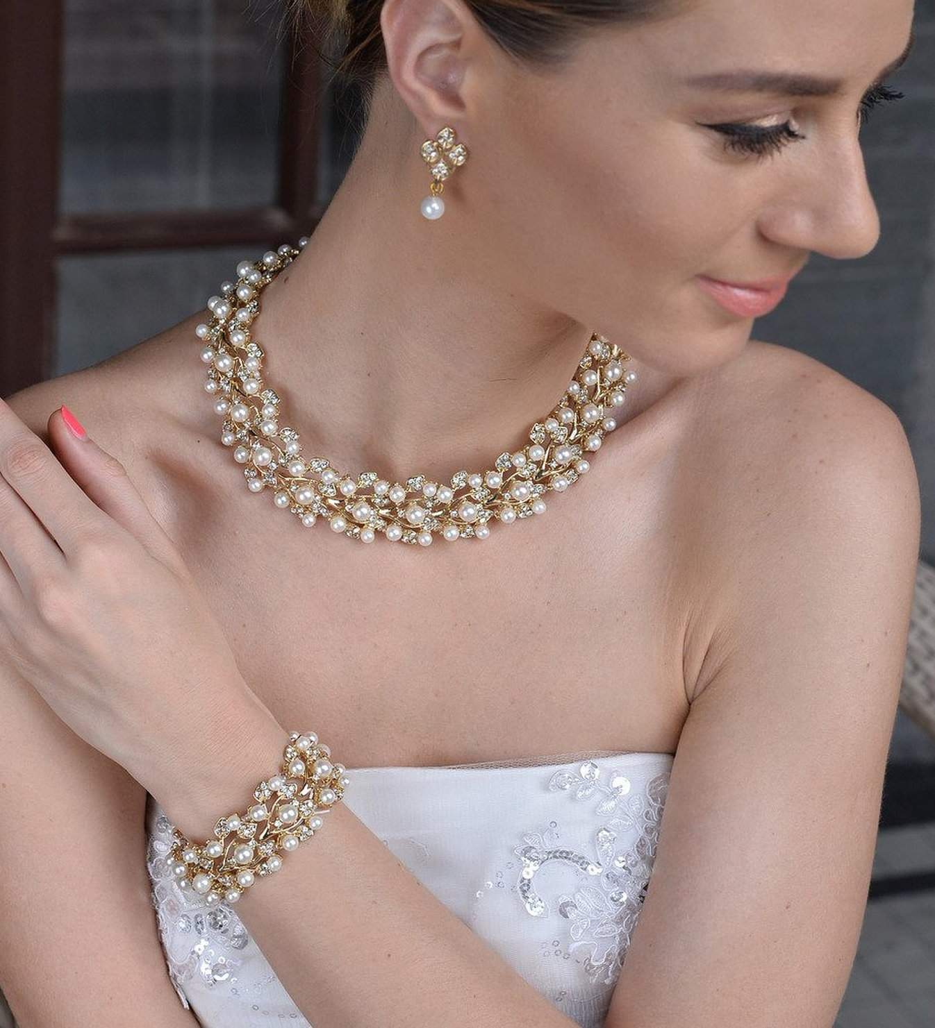 Wedding Jewelry For Brides Image collections - Wedding Dress ...