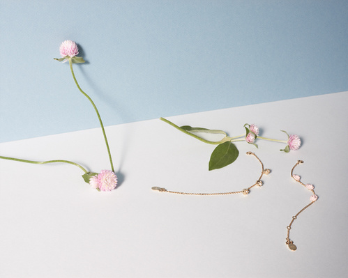 The new collection offers mini lily of the valley, rose and star-shaped lucky charms for little ones.