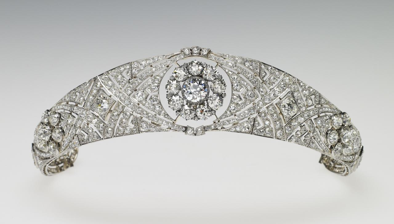 Queen Mary Bandeau Tiara
