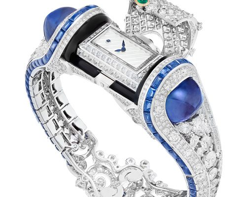 Heure Marine watch by Van Cleef & Arpels