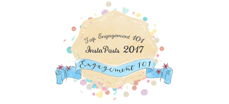 top engagement 101 instaposts banner